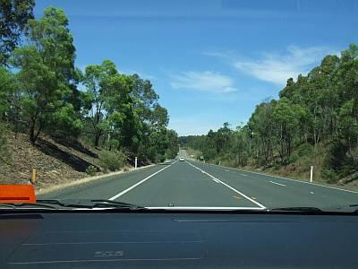 Princes Highway Richtung Narooma