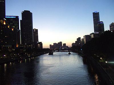 Yarra-River-am-Abend