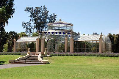 Botanicgarden Gewaechshaus