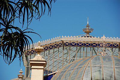 Botanicgarden Gewaechshaus Detail