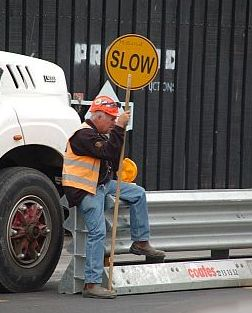Strassen-Arbeiter