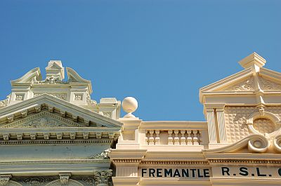 Perth Fremantle Gebaeude Fassade 03
