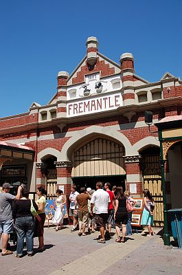 Perth Fremantle Market Eingang