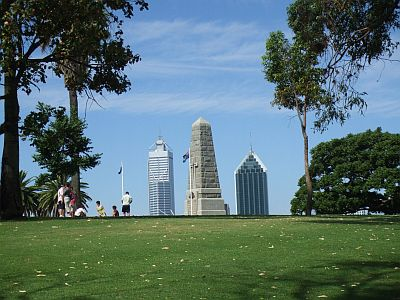 Perth Kings Park View