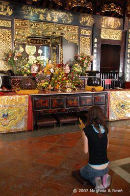 Port119 melaka Tempel
